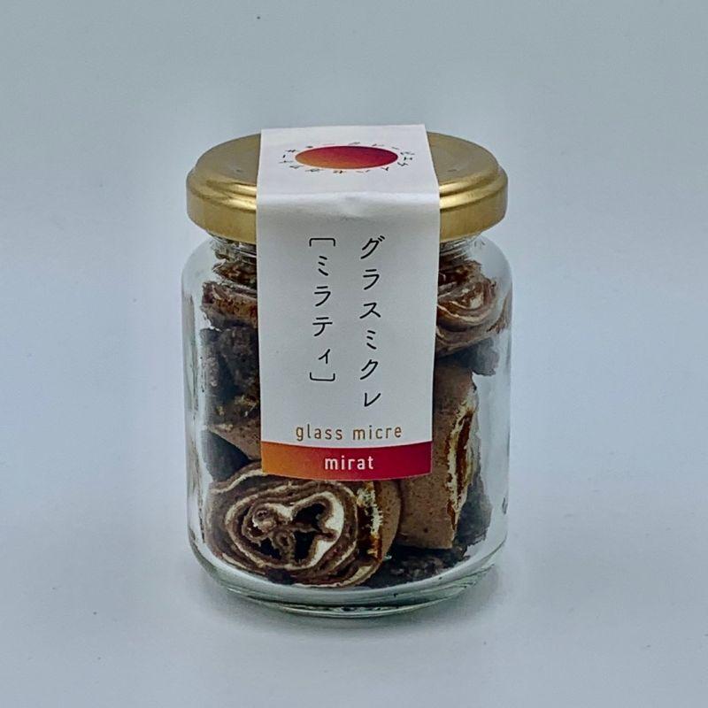 画像1: ℃KT認定グラスイーツ単品。グラスミクレ[ミラティ]。クレーピエkeihasegaの最新作です。 (1)